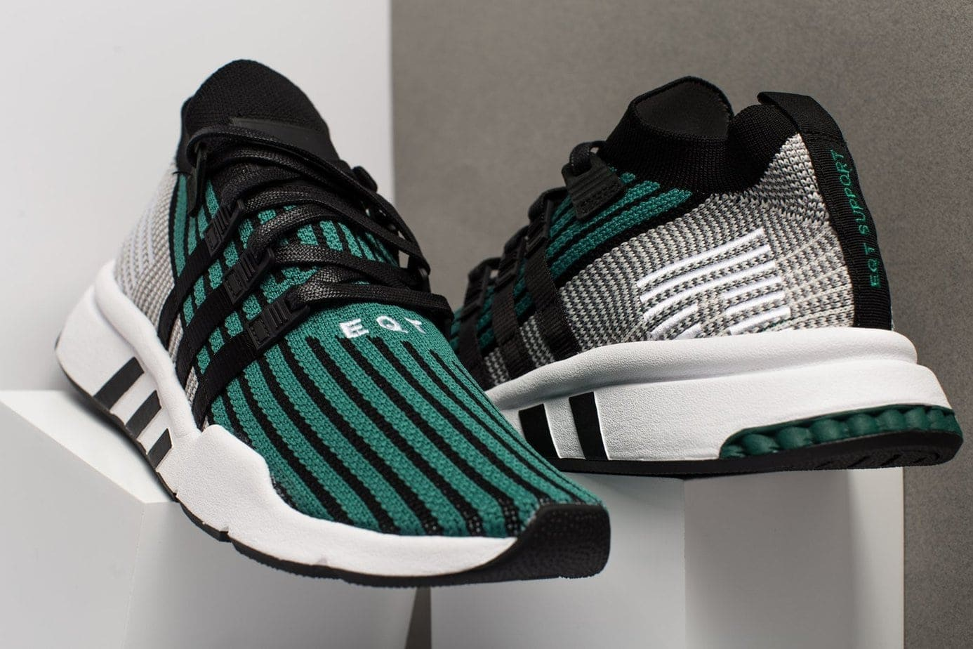 hot sale online 144b8 3cded adidas EQT Support Mid Primeknit Release Date February 2018. Price 150.  Style Code CQ2998