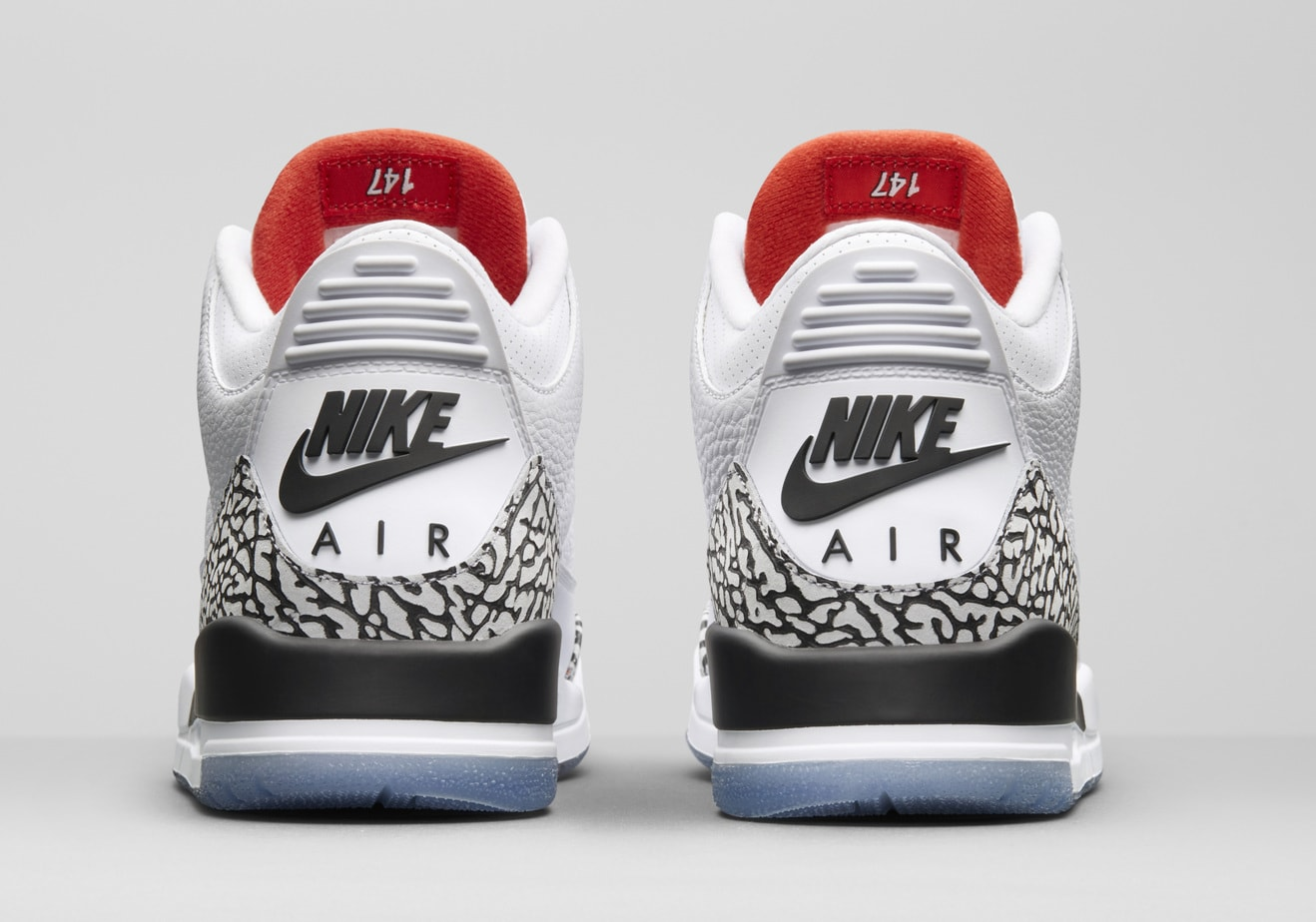 on sale 3add8 b6cb2 ... spain air jordan 3 nrg white cement release date february 14 2018.  price 200.