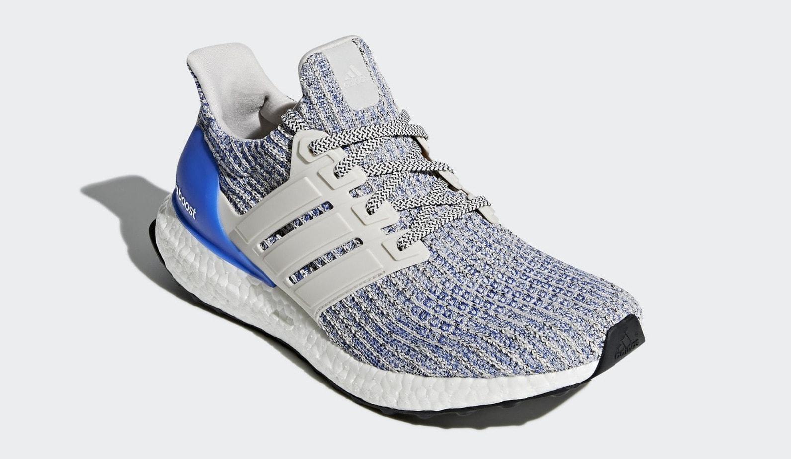 Adidas Ultra Boost 4 0 Chalk Pearl Carbon 2018