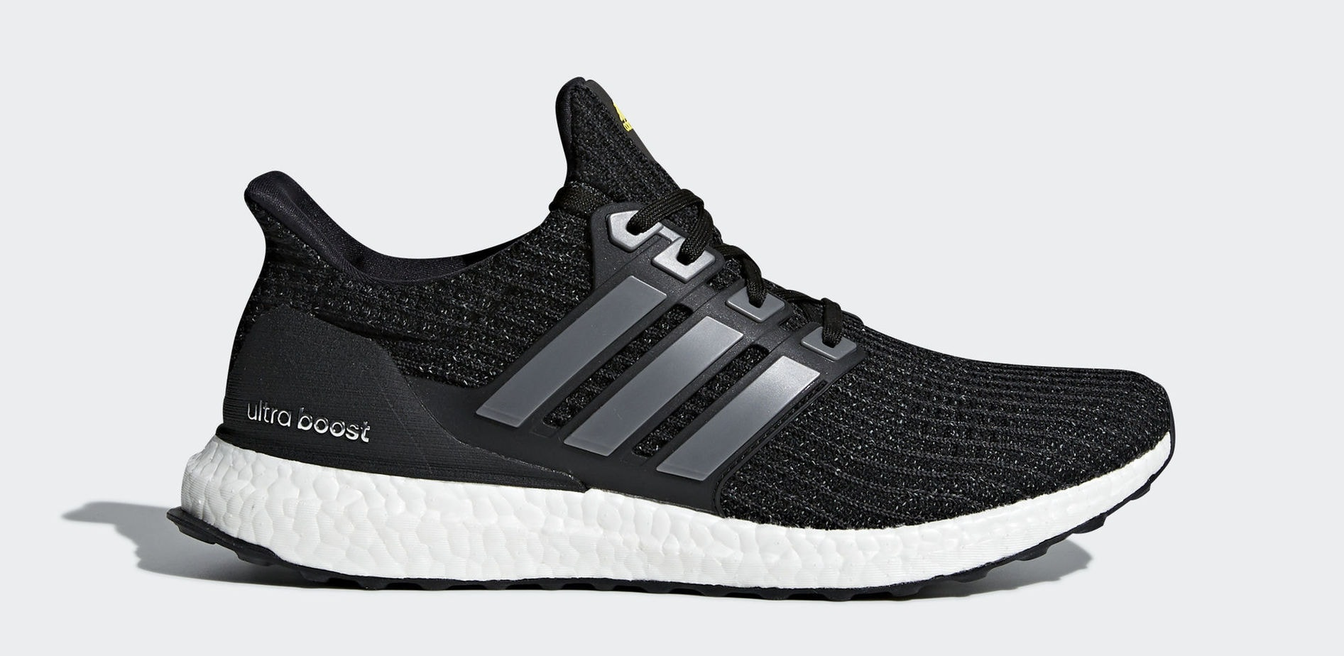 "adidas Ultra Boost LTD ""5th Anniversary"" Core Black/Iron Metallic/Vivid  Yellow February 1, 2018"