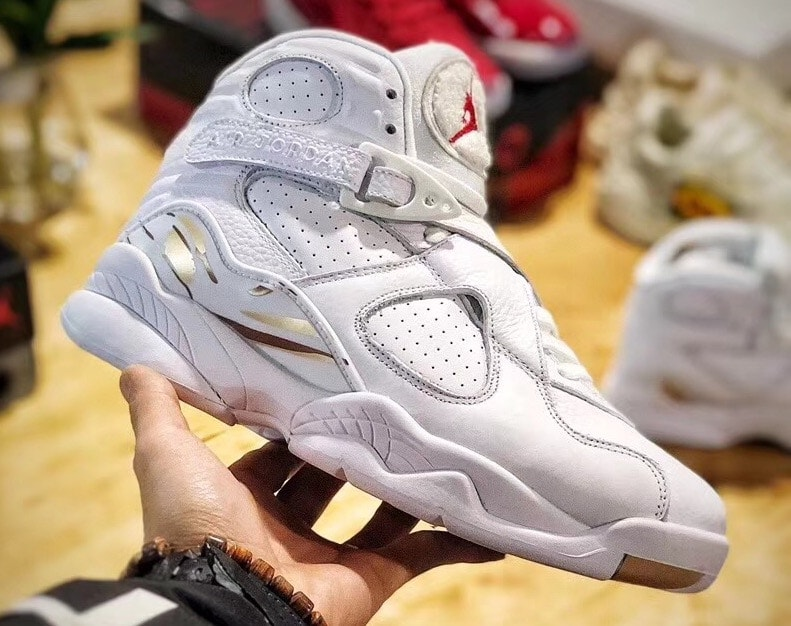 new style a5c9e 2a007 ... closeout air jordan 8 ovo white release date february 16 2018. price 225.  color