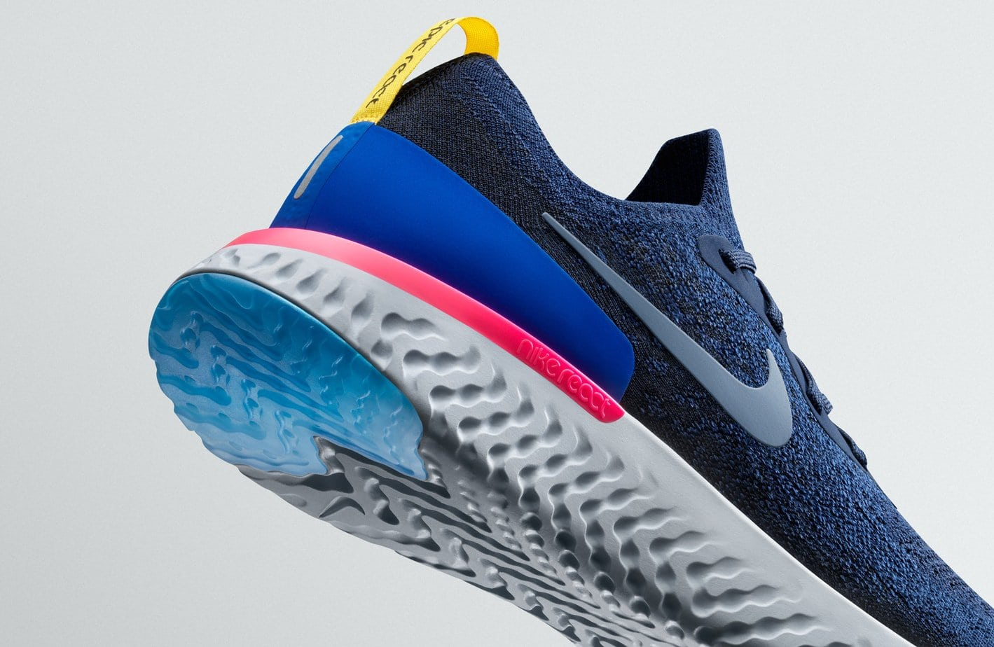 62a548b05ddc Nike debuted their React foam midsole technology last year on two of their  standard basketball models. Now