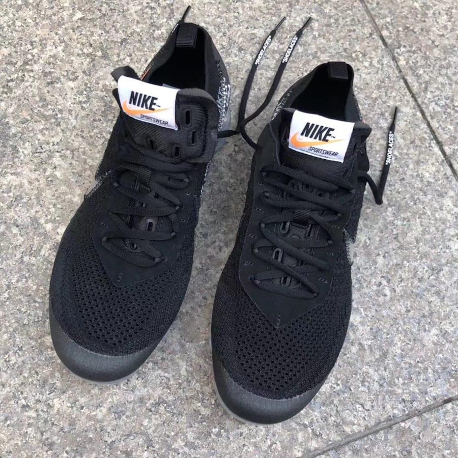 Nike Vapormax De Liberación Negro Blanco En La Llanura AhtO9X