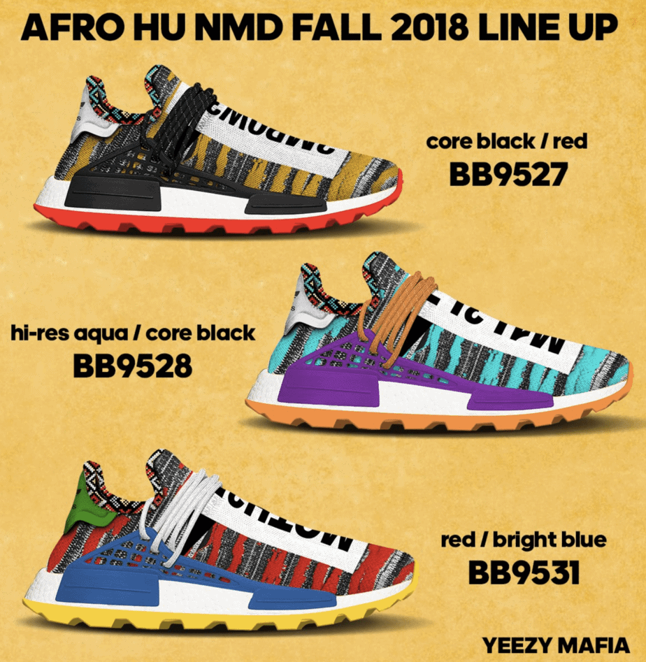 cc3613d07941 Pharrell Williams wants everyone to be rocking a pair of his signature NMD  line. To help complete this goal