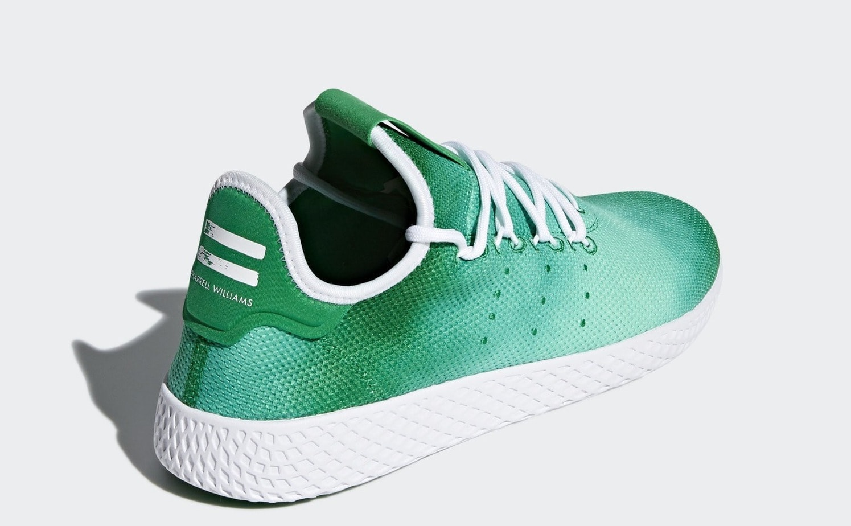 2bb97d3ec85 Pharrell s adidas Tennis Hu Arrives in Two Bright Colors Soon ...