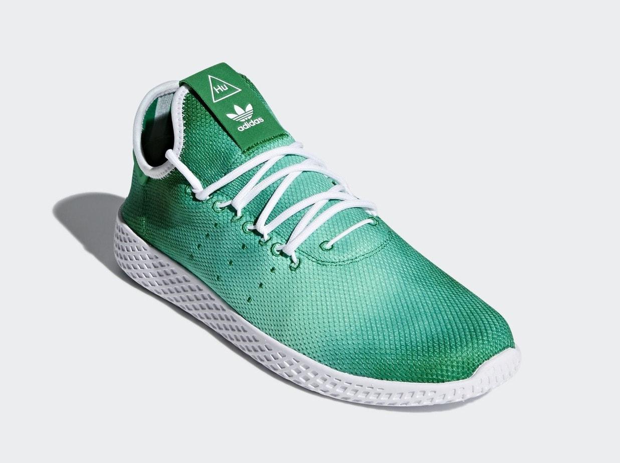 Admitir Fontanero pollo  Pharrell's adidas Tennis Hu Arrives in Two Bright Colors Soon -  JustFreshKicks