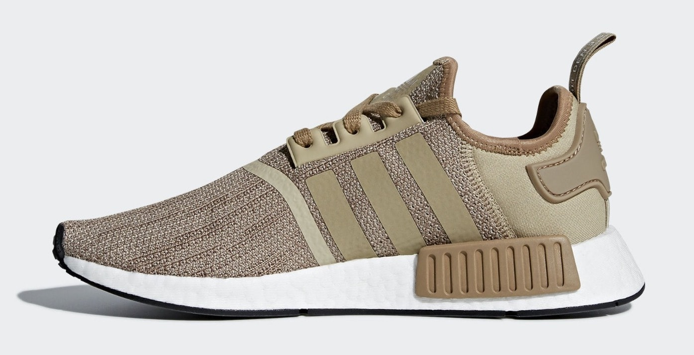 42482b8fc ... adidas nmdr1 raw gold color raw gold cardboard ftwr white price 130. release  date 2018