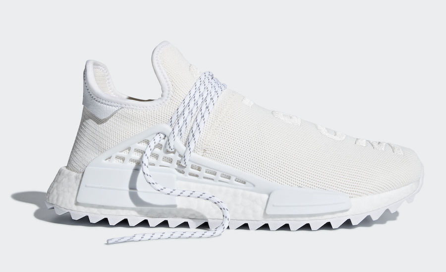 "b5c2895981de7 The Pharrell x adidas NMD Hu Trail Holi ""Blank Canvas"" is set release this  Friday"