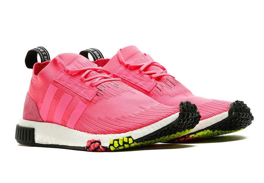 302bf5484 A Hot Pink adidas NMD Racer Arrives in February - JustFreshKicks