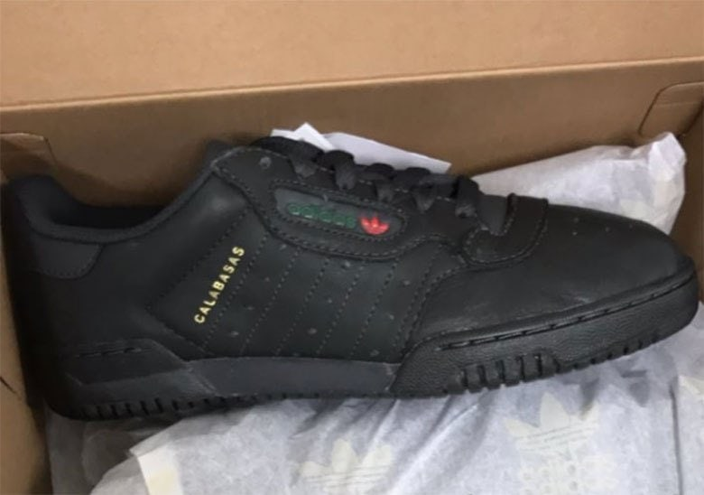 "3c515a43df6 The adidas Yeezy Powerphase ""Core Black is expected to release Spring 2018.  The shoes will most likely receive a wider release like the grey pair"