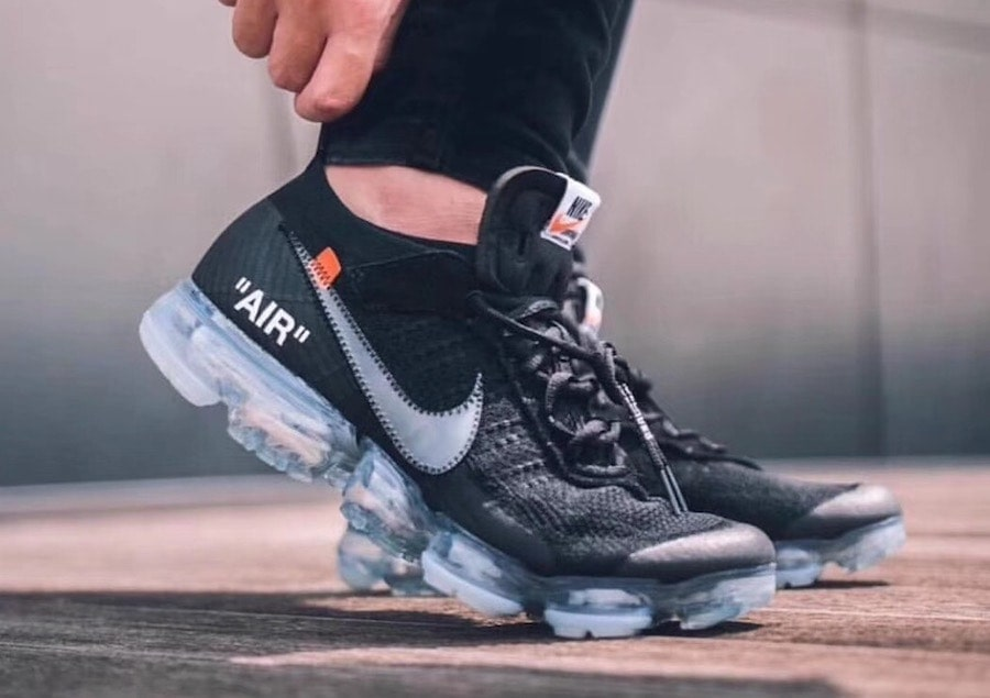 84b1cf852e7e Off-White x Nike Air VaporMax. Color  Black Total Crimson-Clear Style Code   AA3831-002. Release Date  2018. Price   250
