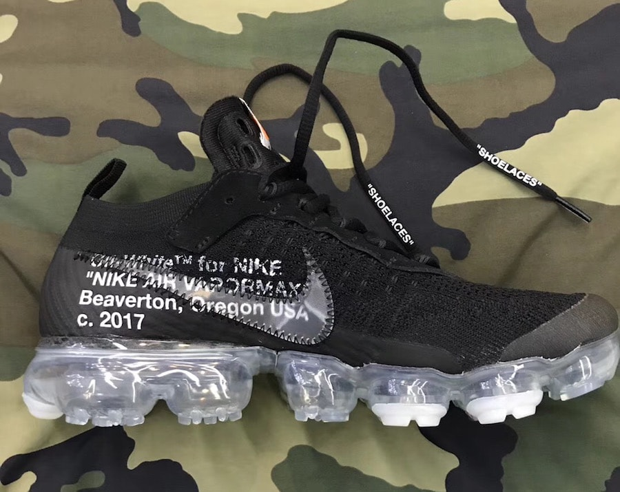 huge selection of 5b767 1bf9e Off-White x Nike Air VaporMax. Color BlackTotal Crimson-Clear Style Code  AA3831-002. Release Date 2018. Price 250