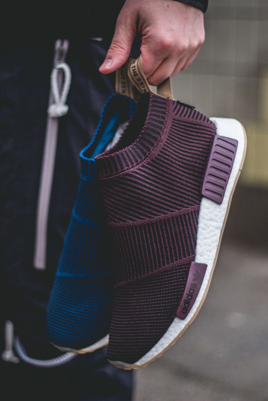 SNS x adidas NMD CS1 Gore-Tex (Maroon) Release Date  January 27 76844f5d6
