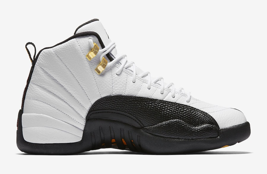 "buy online 13ff5 24fcf Air Jordan 12 ""Taxi"" Release Date  March 18, 2018. Price   190. Color   White Black-Taxi-Varsity Red Style Code  130690-125"