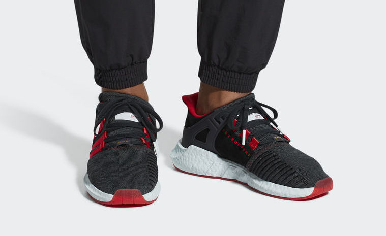"lowest price 5ea0f dbe88 adidas EQT Support 9317 ""Yuanxiao"" Release Date February 23rd, 2018.  Price 180. Color Core BlackScarletAsh Green Style Code DB2571"