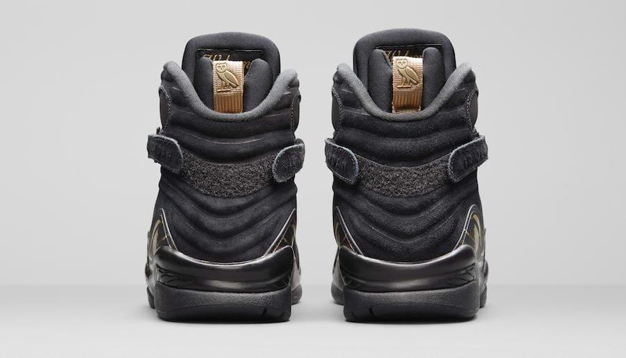 meet 8127a 4efc8 Air Jordan 8 OVO Release Date  February 16, 2018. Price   225. Color  Black Metallic  Gold-Varsity Red-Blur Style Code  AA1239-045