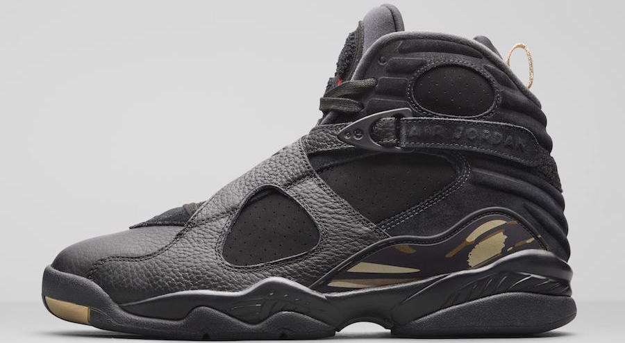 meet 32372 a56d9 Air Jordan 8 OVO Release Date  February 16, 2018. Price   225. Color  Black Metallic  Gold-Varsity Red-Blur Style Code  AA1239-045