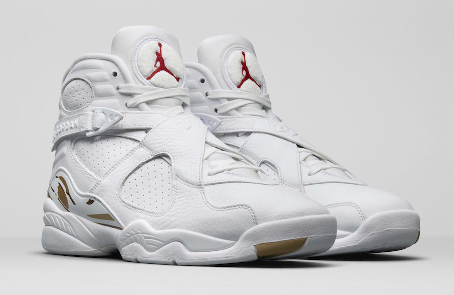 finest selection 898a5 17e25 ... Gold-Varsity Red For Sal  Air Jordan 8 OVO Release Date February 16,  2018. Price 225. Color BlackMetallic ...