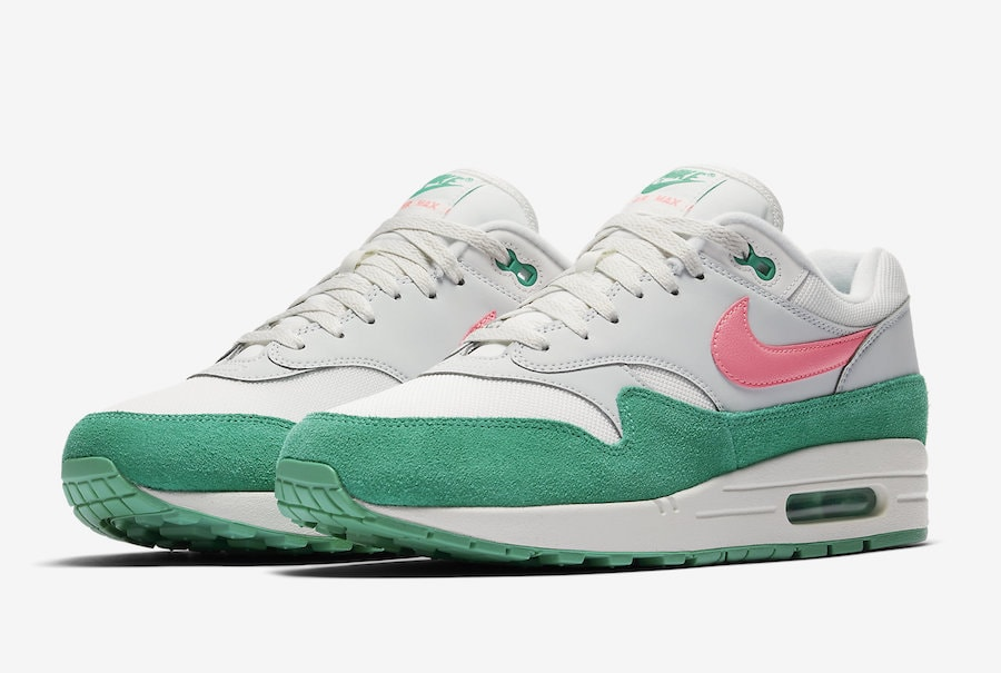 "78c2019b7d5 Nike Air Max 1 ""Watermelon"" 2018 Release Info - JustFreshKicks"