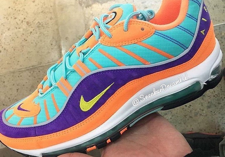 The Nike Air Max 98 Gets a Bright New Look Next Month - JustFreshKicks