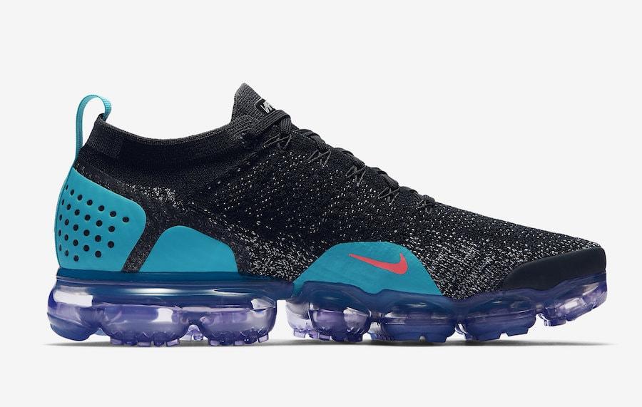 Nike Vapormax Aire Flyknit 2,0 Negro Kd Punzón / Caliente