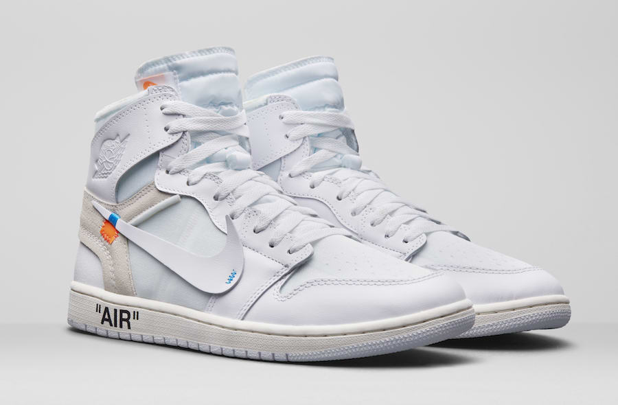 "Official Images of the Off-White x Air Jordan 1 ""White"" Coming Soon 7d16089360"