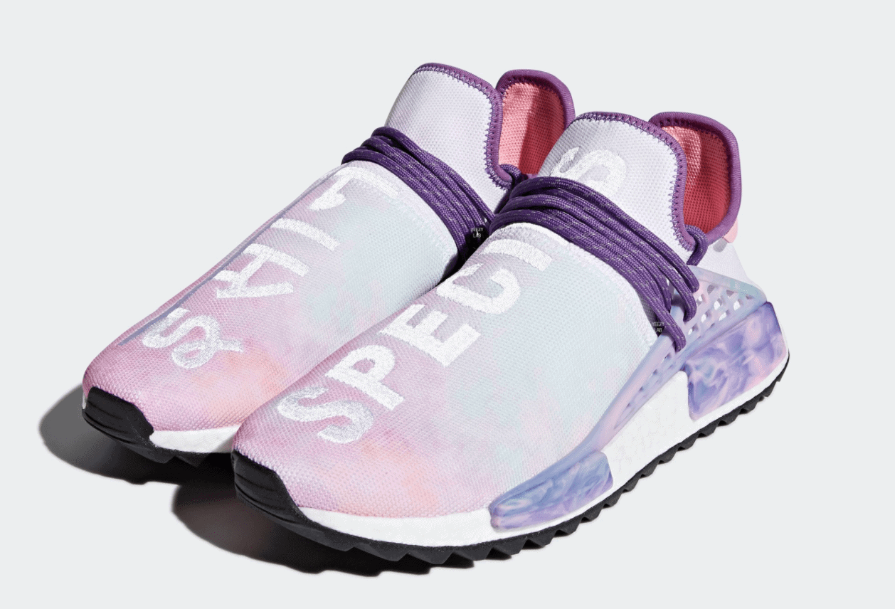 "2b4bfff4f Official Images of the Pharrell NMD Trail Hu ""Holi"" Pink Glow Coming March"