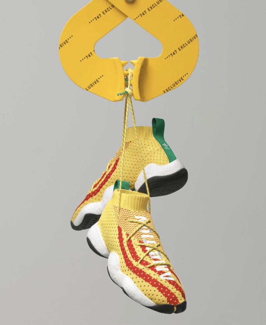 bd0127cee Pharrell x adidas Crazy BYW
