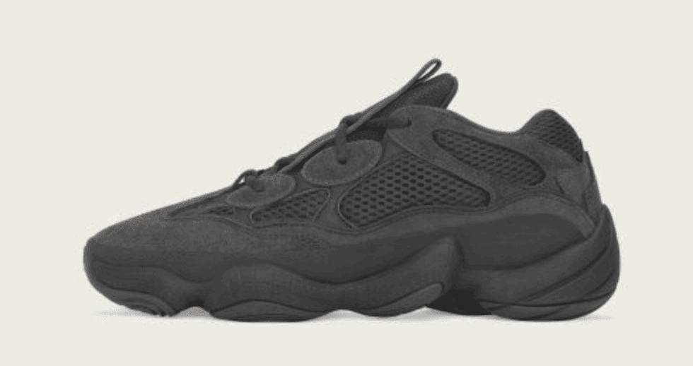 "4649acec8 adidas Yeezy Desert Rat 500 ""Utility Black"" Expected for June 2018"