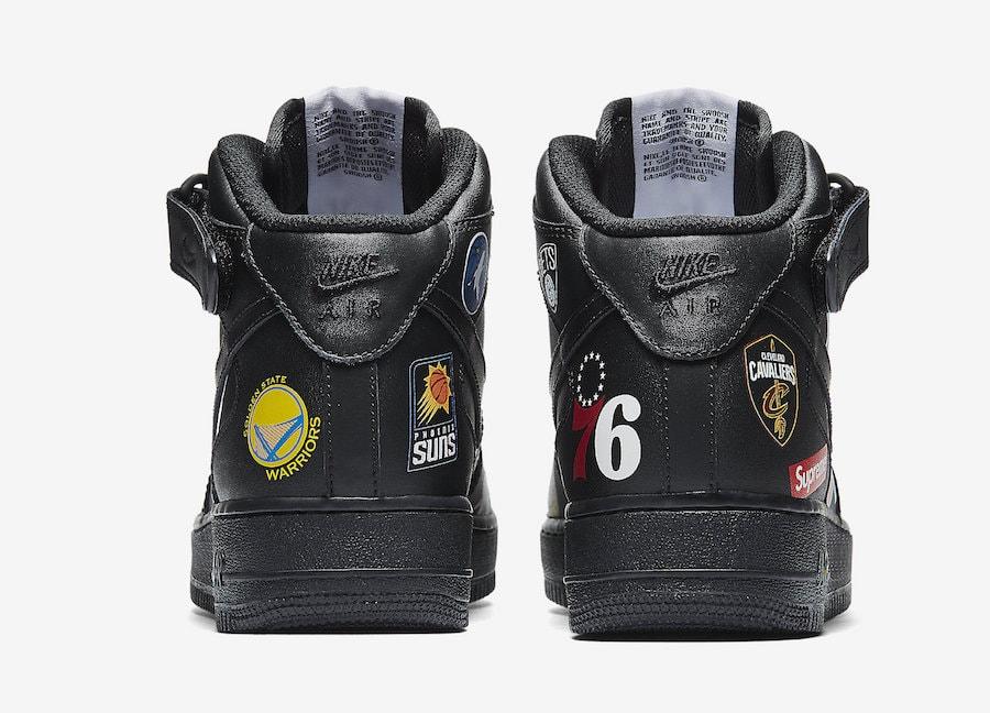 Suprema / Nike / Equipos De La Nba De La Fuerza Aérea 1 Mediados Converse Blanco qNpeZ6Ly