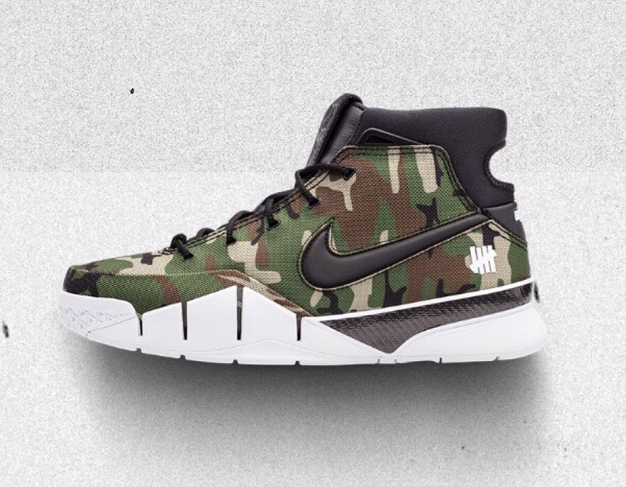 ba24266d46a5 Take a Closer Look at the Undefeated x Nike Kobe 1 Protro ...