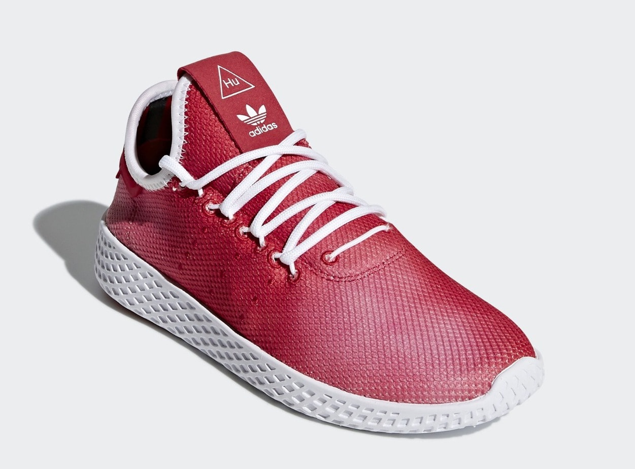 adidas March Pharrell Hu 2018 Tennis Scarlet JustFreshKicks x rXq5wr