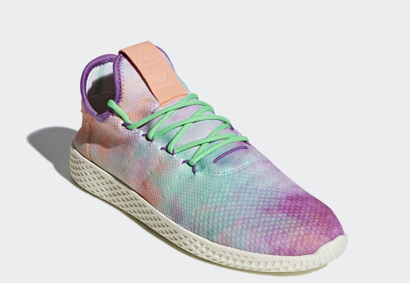 "513ab24b1 First Look at the Pharrell x adidas Tennis Hu ""Holi"" Coming Next Month"