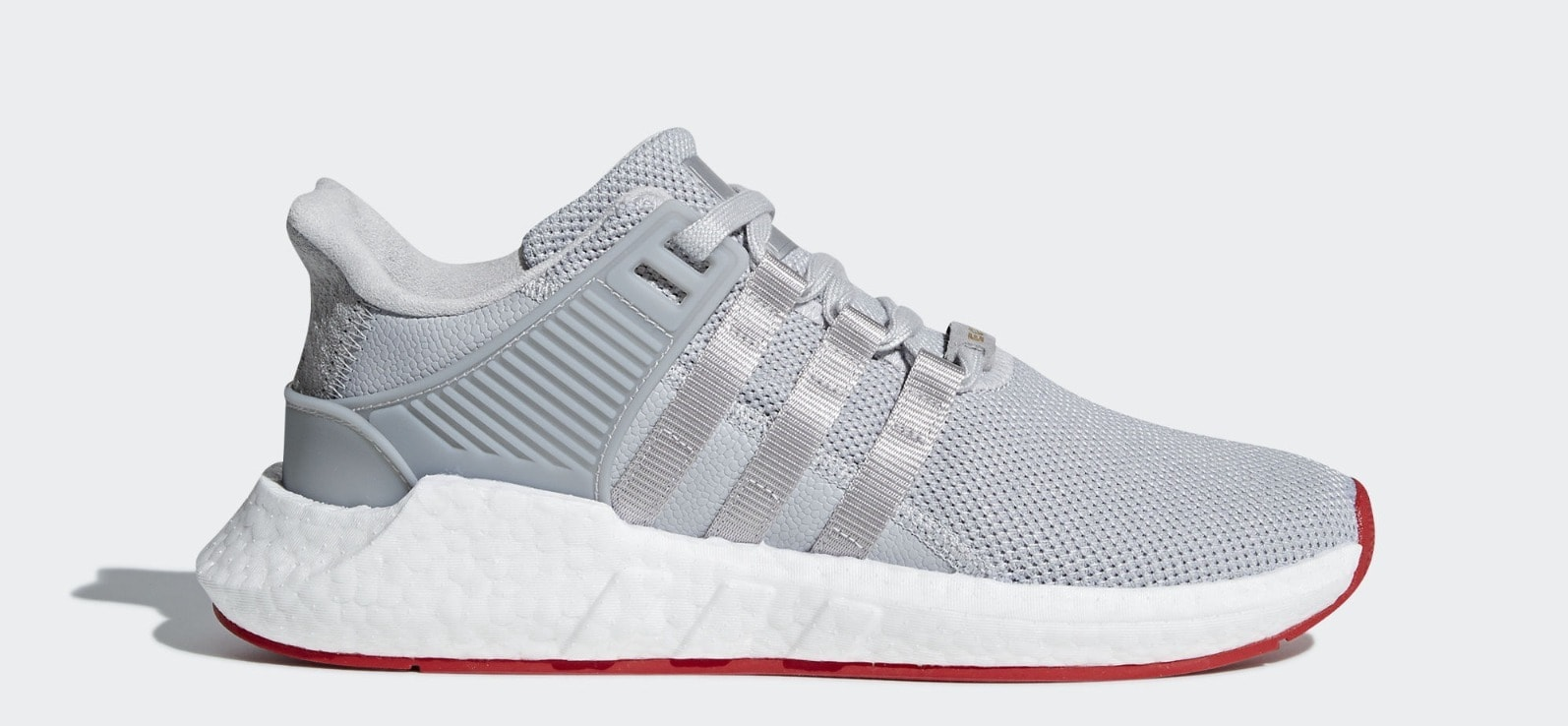 "ee7e6d37ffef4 adidas EQT Support 93 17 ""Red Carpet"" Silver Release Date  March 2018.  Price   180. Color  Core Matte Silver Matte Silver Ftwr White Style Code   CQ2393"