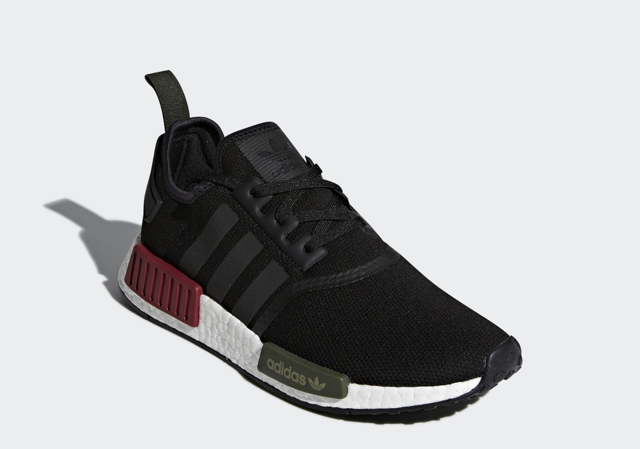 "0b151d08650 The post First Look at the adidas NMD R1 ""Red Green"" Releasing Soon  appeared first on JustFreshKicks."