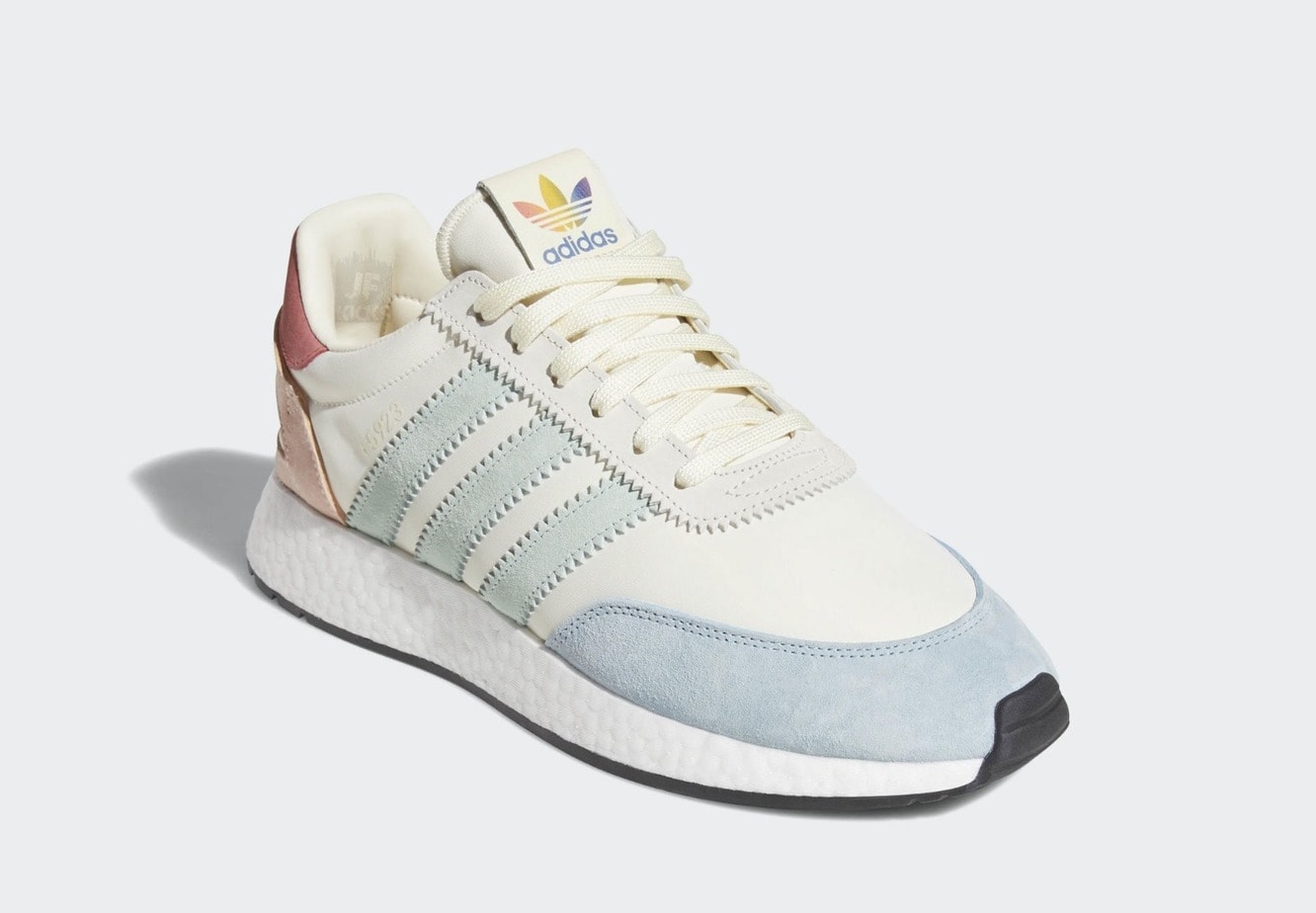 new style e07a4 414fc adidas celebrates Pride month every year now, issuing an annual colorful  pack of popular models, and donating 10% of the proceeds to charity.