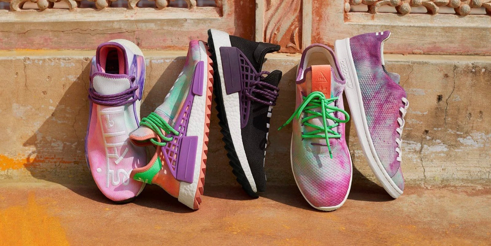 Complete x Look at the Pharrell x Complete adidas Hu Holi Collection e43a9d