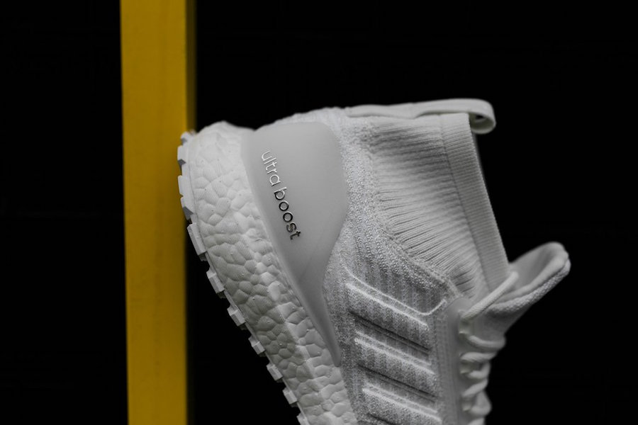 """adidas Ultra Boost ATR Mid """"Triple White"""" Release Date  Available Now  Price   220. Color  Ftwr White Ftwr White Ftwr White 80fb426f7"""