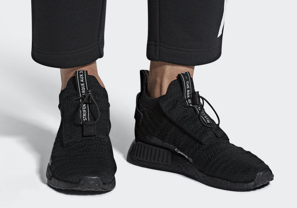 separation shoes 67664 df204 Late last year, a new adidas NMD silhouette appeared online in leaked  images. Debuting a mid-top cut and odd new construction, the adidas NMD TS1  has been ...