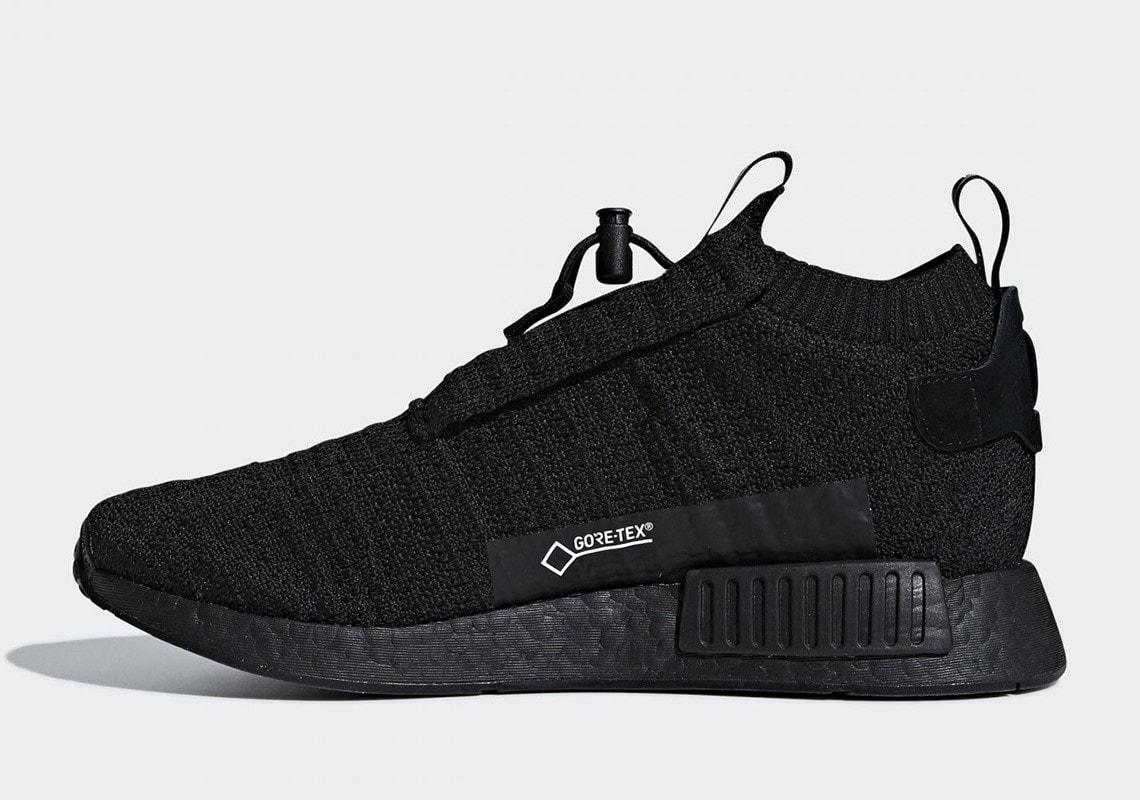 Adidas Nmd Ts1 Gore Tex Quot Triple Black Quot 2018 Justfreshkicks