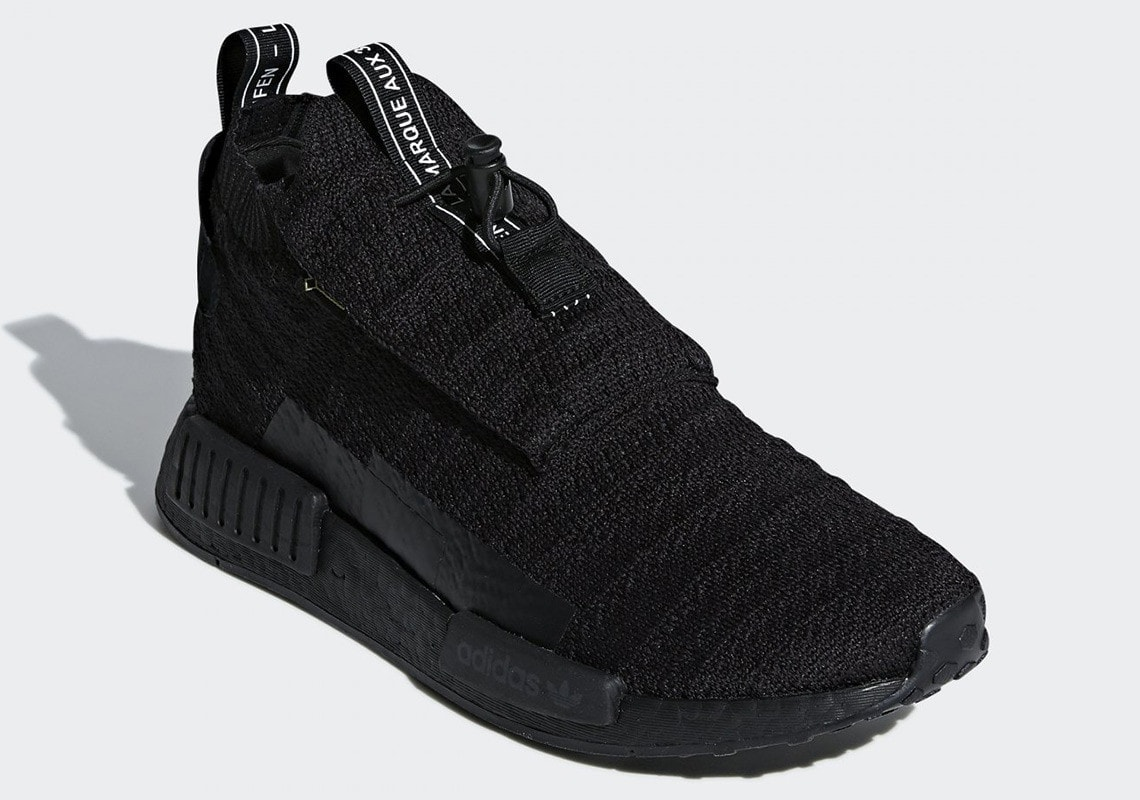 "1c6144cd210ff adidas NMD TS1 Goretex ""Triple Black"" Release Date  September 6th"