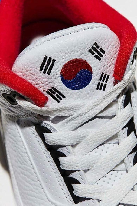 Air Jordan 3 Seoul Designer Réplique NJBjr0