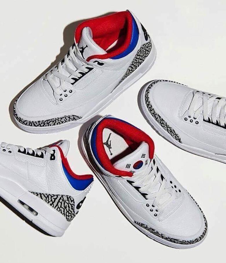 Air Jordan Retro 3 Ee.uu. 2018 Figura Olímpico 4MOtiUW