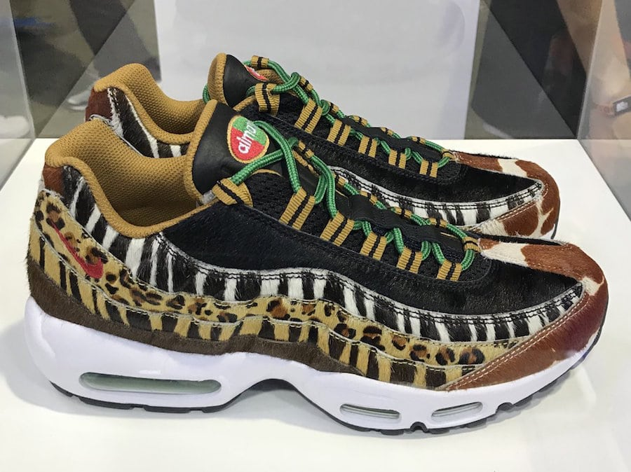 026cc0d711 ... 2.0 atmos x Nike Air Max 95 DLX Animal Pack Release Date March 14, 2018.