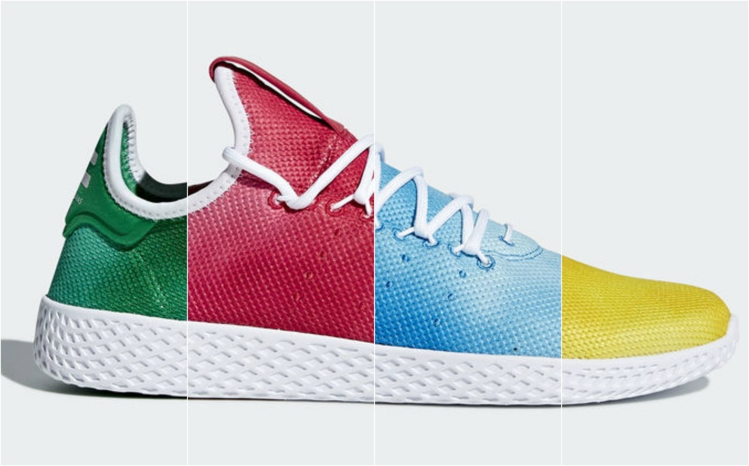 f340f47f2debf Pharrell and adidas have a lot planned for the month of March. Originally  set to debut just the Hu Holi Powder Dye collection