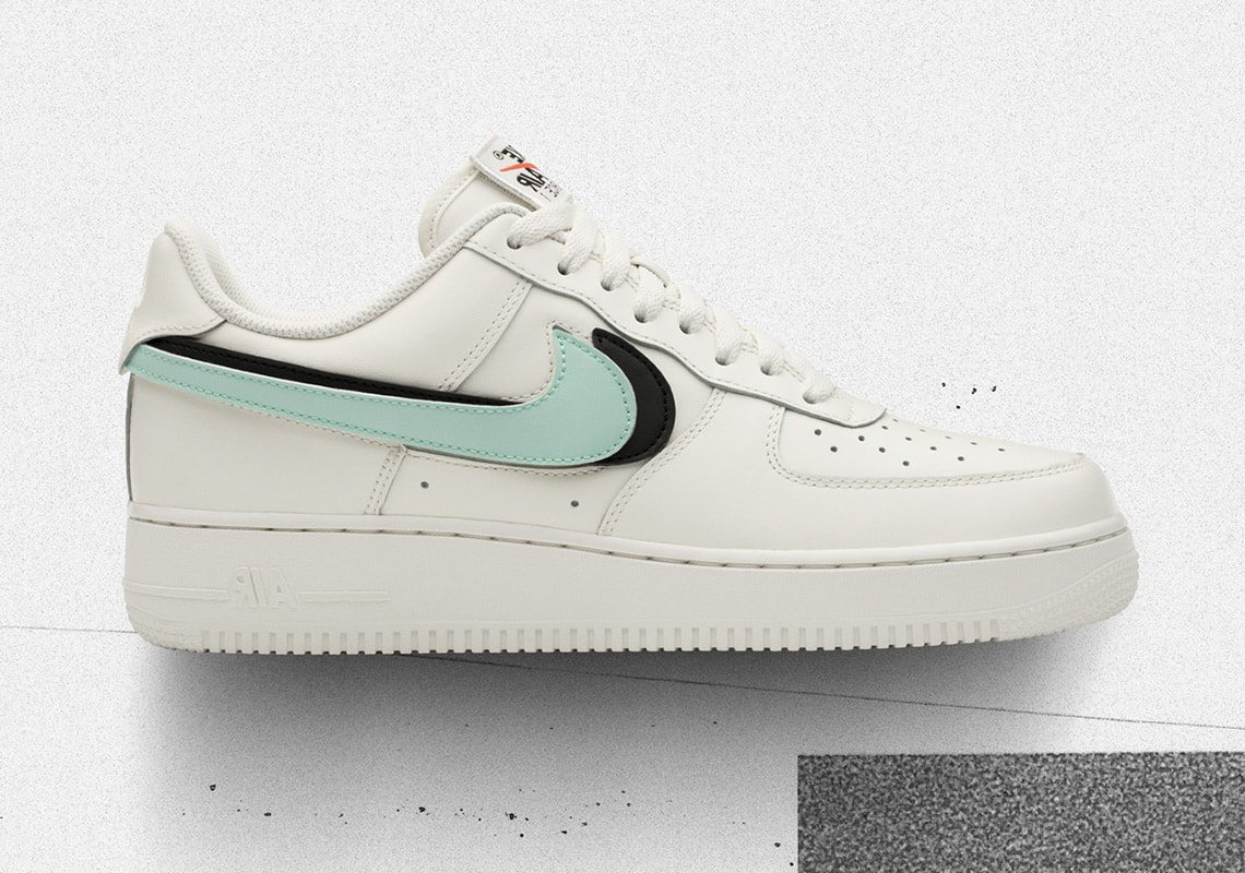 "9900f351735b Nike Air Force 1 ""Swoosh Pack"" Release Date - JustFreshKicks"