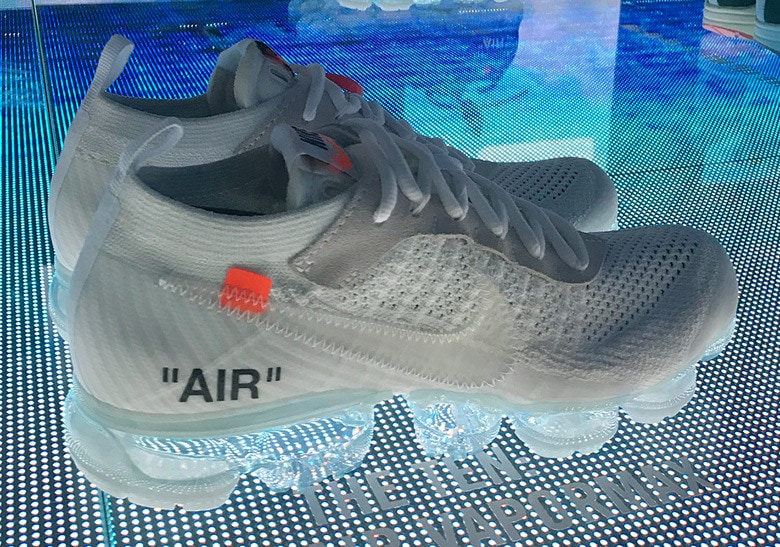 Nikelab Shanghai Confirms Two Off White Vapormax