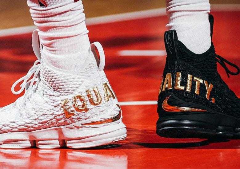 The Nike LeBron 15
