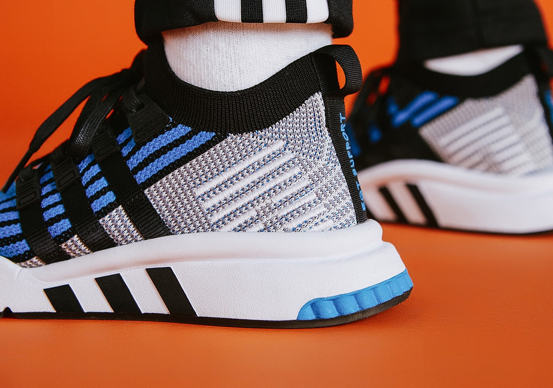 """info for 1a6fd 41fe3 This time around, theyll pull an original EQT color from the archives to  bring us the """"OG Blue"""" adidas EQT Support Mid ..."""