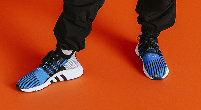 Size? x adidas EQT Support Mid PK